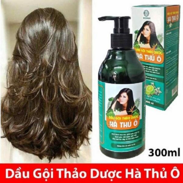 Dầu Gội Thảo Dược Hà Thủ Ô 300ml kích thích mọc tóc, giảm rụng tóc-300ml cao cấp
