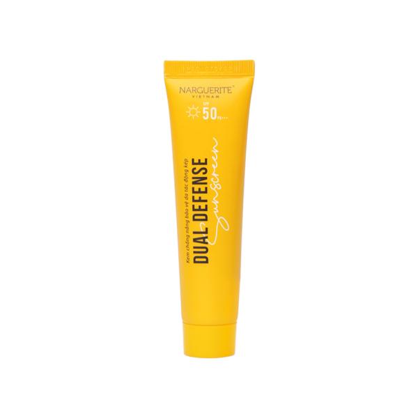Kem chống nắng Dual Defense Suncreen Narguerite 30g