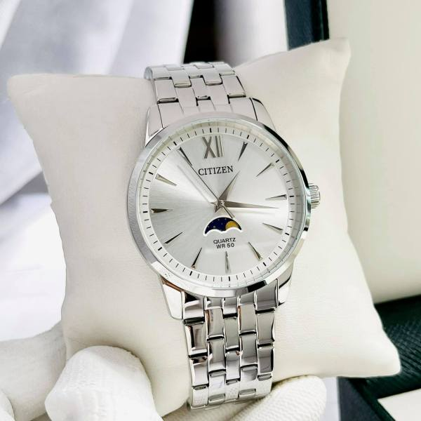 Đồng hồ nam dây thép Citizen AK5000-54A Bảo hành 1 năm- Pin trọn đời Hyma watch