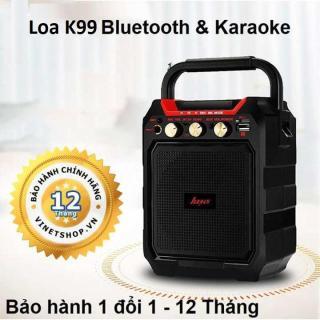 Loa Karaoke Mi Xách Tay Đa Năng Bluetooth Karaoke K99, Bass Chắc, Âm Thanh Sống Động Phụ Hợp Với Nhiều Thể Loại Âm Nhạc - BH 1 ĐỔI 1 thumbnail