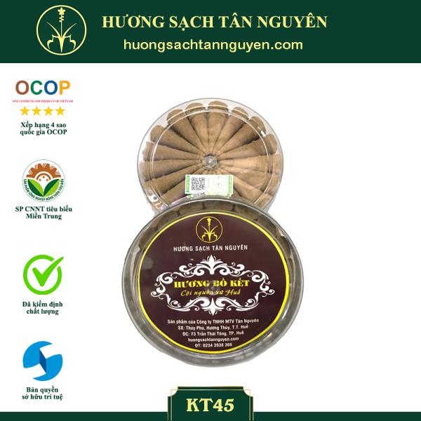 NỤ BỒ KẾT xông nhà KT45 -  100% thiên nhiên - Hương sạch Tân Nguyên