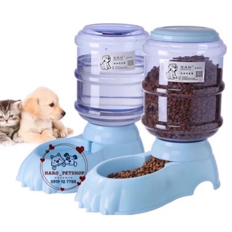 Bình nước đựng thức ăn tự động cho chó mèo 3.8l, đa dạng kích cỡ, chất lượng đảm bảo và cam kết hàng như mô tả
