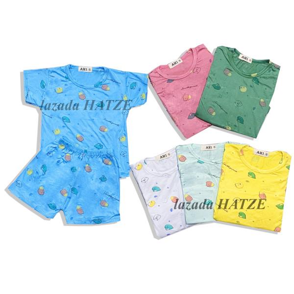 Bộ quần áo trẻ em thun lạnh mát mịn QATE655 cho bé trai và bé gái