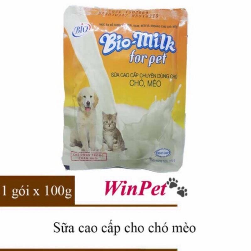 Sữa cao cấp Bio.Milk chuyên dùng cho chó mèo