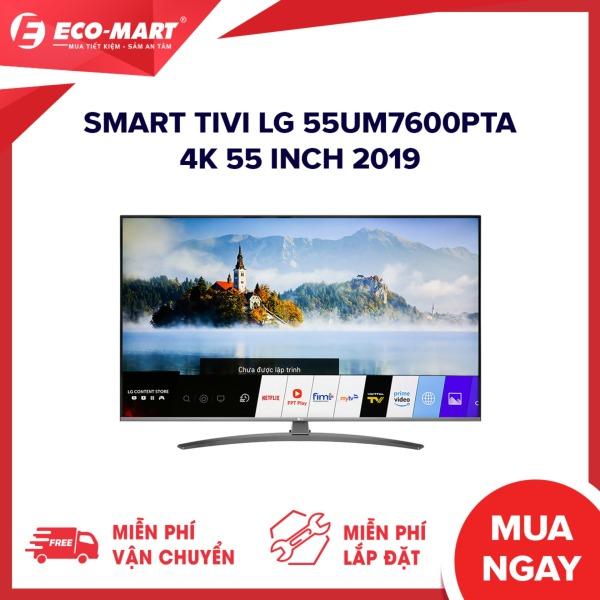 Bảng giá Smart Tivi LG 55UM7600PTA 4K 55 inch 2019