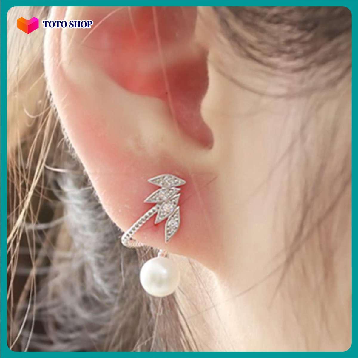 [HCM]Khuyên tai nữ bông tai  phong cách cá tính thời trang phong cách quý phái kiểu dáng đơn giản dễ kết hợp phong cách Hàn Quốc - [ToTo Shop]