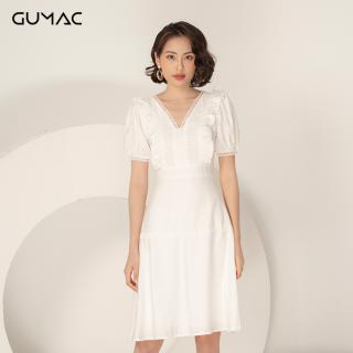 Đầm GUMAC thiết kế Boho cổ V đăng ten DA988 thumbnail