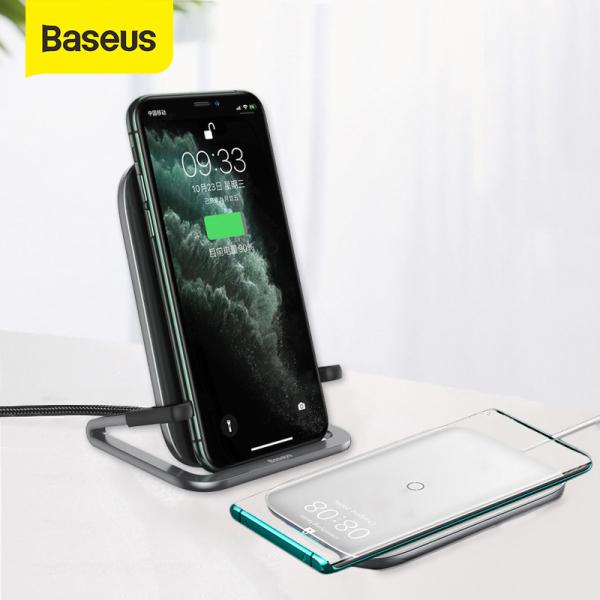 Sạc Không Dây Baseus 15W Qi Dành Cho Iphone 11 11Pro X Xs 8 Samsung S10 Note 10 hshop365 abshop365 abshop hshop