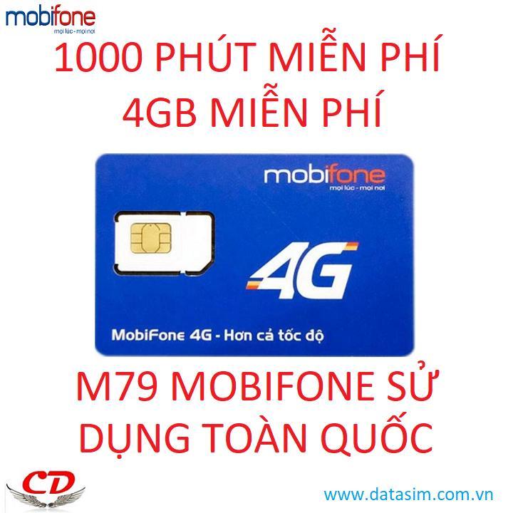 Sim thần tài Tỷ phút gọi+5GB -0đ-MC90-DN