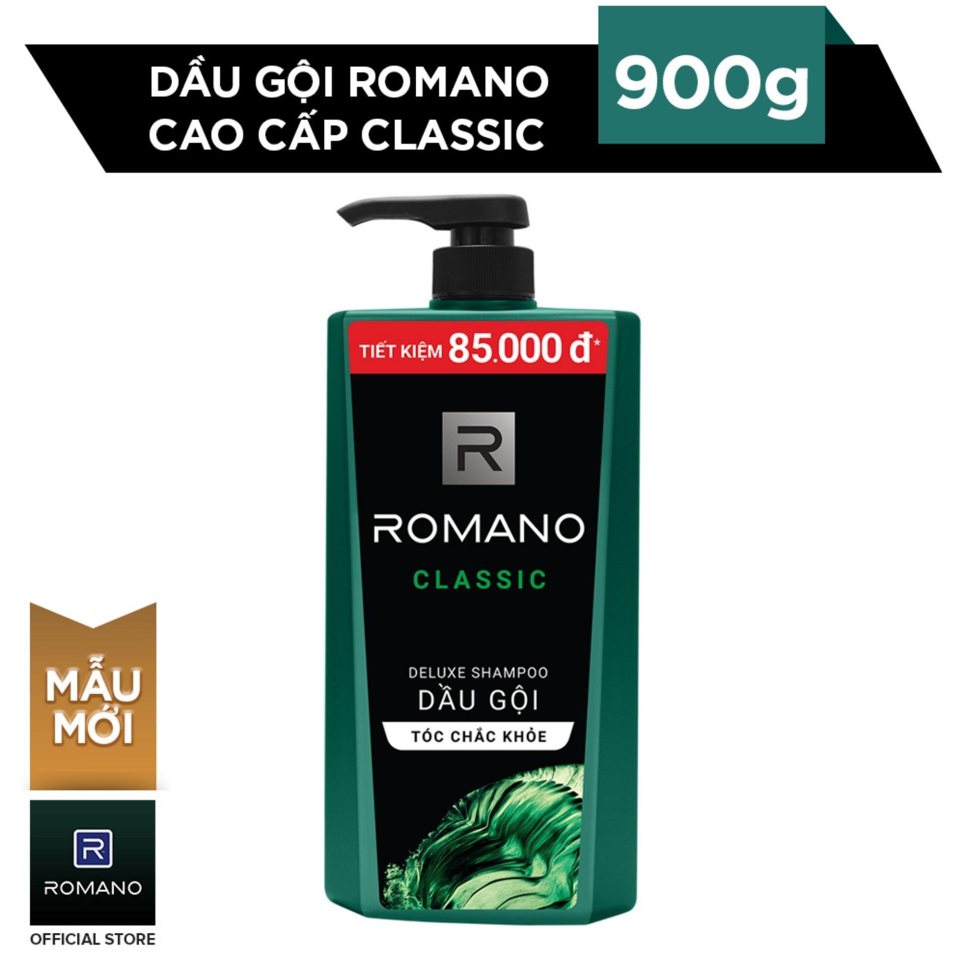 Dầu gội Romano Classic 900g