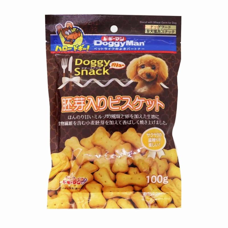 Bánh quy trứng cho chó Doggy man Snack 100g