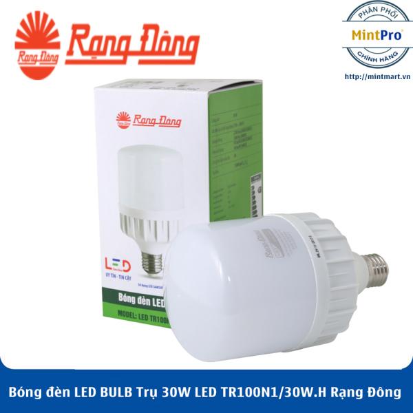 Bóng đèn LED BULB Trụ 30W LED TR100N1/30W.H Rạng Đông - Hàng Chính Hãng