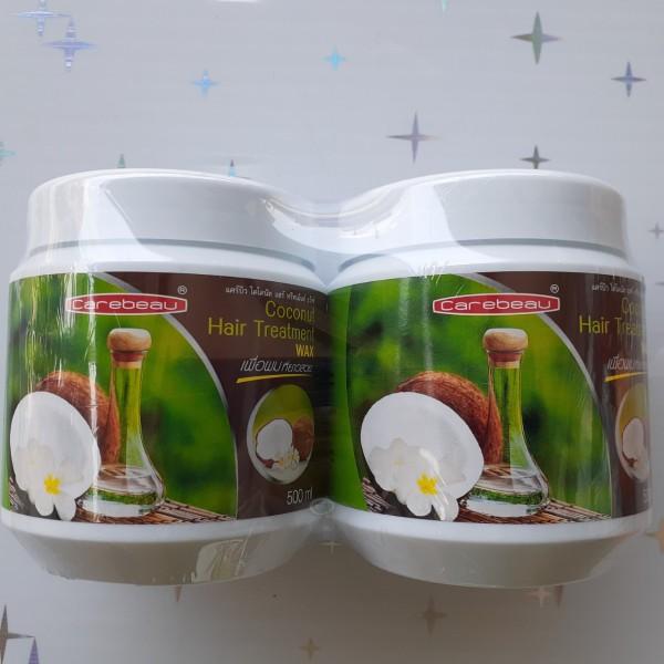 Combo 2 hũ Kem ủ tóc Carebeau Thái Lan tinh chất dừa non siêu mềm mượt