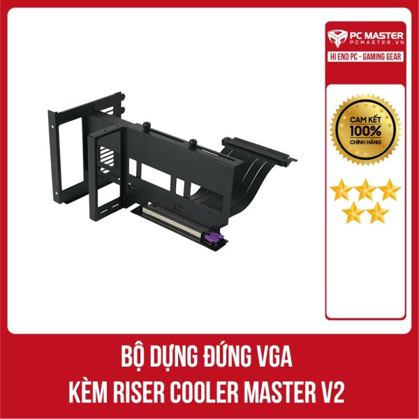 Bảng giá Bộ giá đỡ dựng VGA kèm Riser Cooler Master V2 hàng chính hãng Phong Vũ