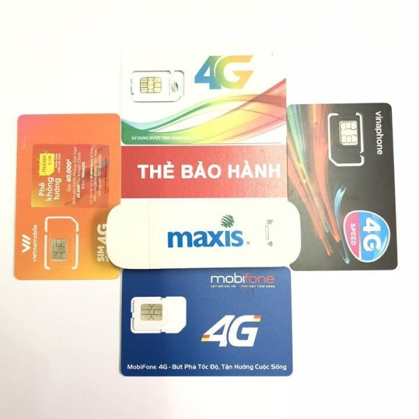 Bảng giá Bộ USB phát wifi từ sim 3G 4G MAXIS MF70,đa mạng, tốc độ cực khủng-Tặng Kèm Sim 4G DATA Cực Khủng Phong Vũ