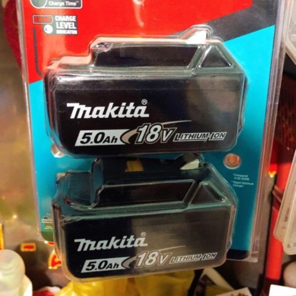 Pin makita 5ah nhập mỹ về new