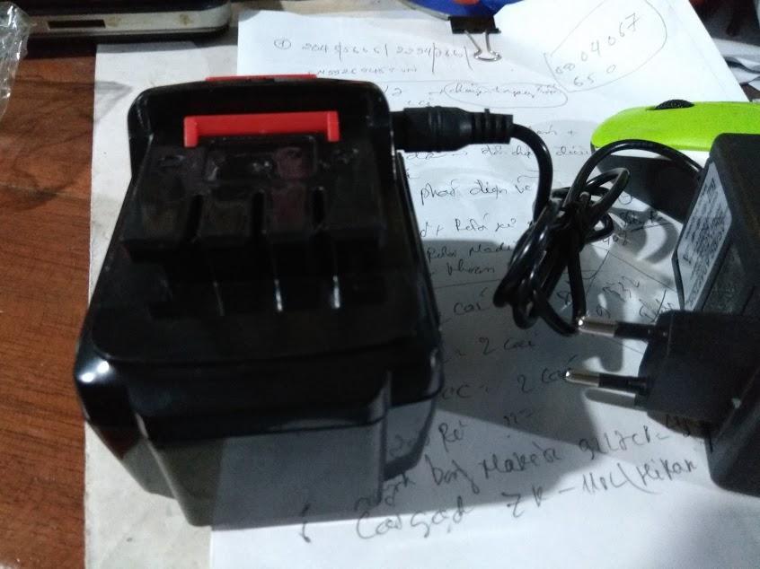 Pin 21 vôn cho máy khoan pin Makita loại xịn 1.5Ah (nặng 0.32Kg 1 pin)-Shop Thảo My