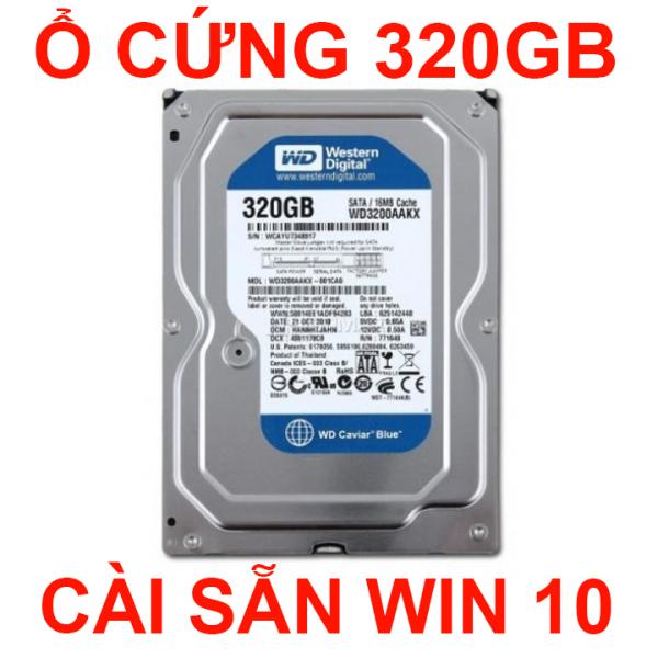 Bảng giá Ổ cứng máy tính WD 320GB cài sẵn win 10 gắn vào là tự cài đặt win không cần thao tác Phong Vũ
