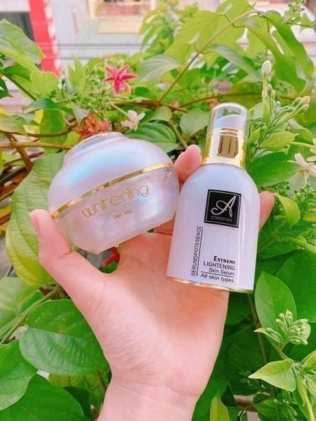 ( COMBO) Kem Face A và Serum Spot A Cosmetics