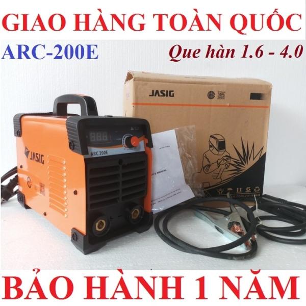 Máy hàn JASIC 200E, Hàn que 2.5 - 4.0mm ,Bảo hành 1 năm, máy hàn điện tử, máy hàn que, máy hàn mini, JASIC