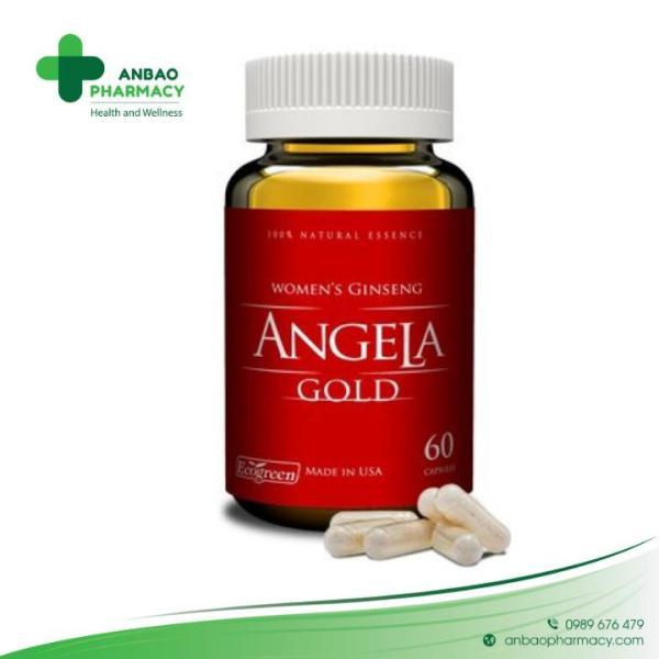 Sâm ANGELA GOLD- hỗ trợ dành cho nữ cao cấp