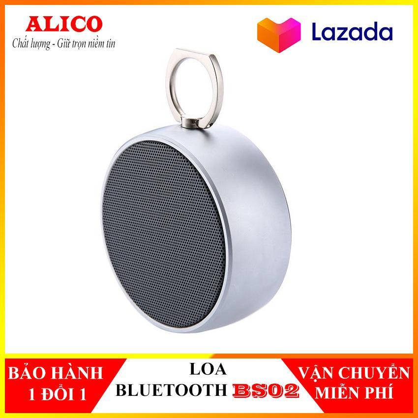 Loa Bluetooth BS02,Loa Bluetooth Vỏ Thép,Loa Bluetooth, Loa Bluetooth Mini Bọc Thép , Loa Karaoke, Loa Máy Tính, Loa Cầm Tay Nghe Nhạc Liên Tục 5 Tiếng, âm Thanh Cực Hay . Loa Bluetooth BS02 -alico Giá Ưu Đãi Không Thể Bỏ Lỡ