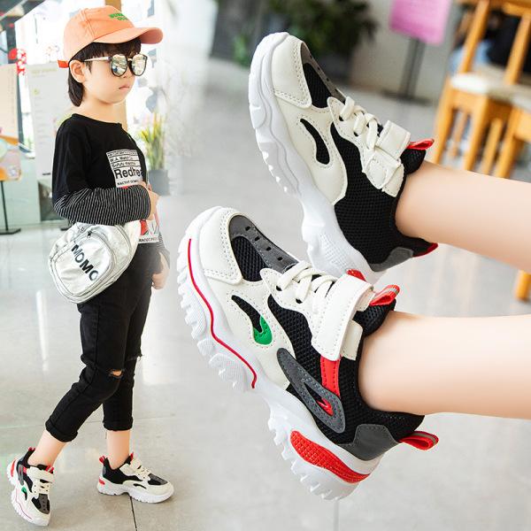 Giày thể thao bé trai bé gáicao cấp từ 3 - 16 tuổi siêu nhẹ đàn hồi kháng khuẩn kiểu dáng thời trang G28