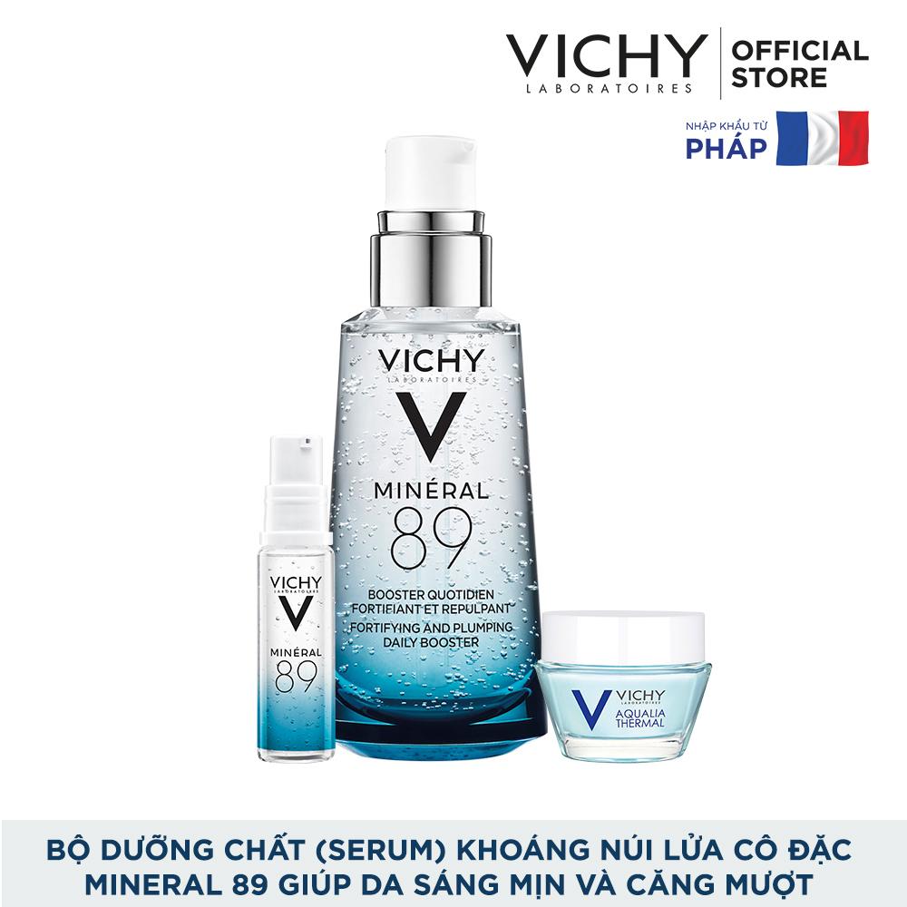 Cơ Hội Giá Tốt Để Sở Hữu Bộ Dưỡng Chất (Serum) Khoáng Núi Lửa Cô đặc Vichy Mineral 89 Giúp Da Sáng Mịn Và Căng Mượt