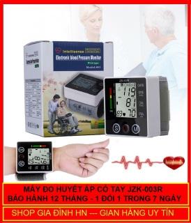Máy đo huyết áp điện tử đeo cổ tay JZK - 003R - Mẫu mới 2020 - Bảo hành 12 Tháng - Lỗi 1 đổi 1 thumbnail