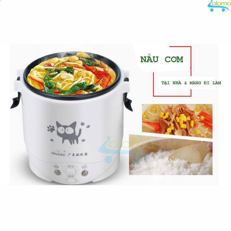 Giá Cực Sốc Khi Mua Nồi Cơm điện 1L Mini Rice Cooker Nấu Cơm Hâm Nóng Nấu Cháo Hầm Xương