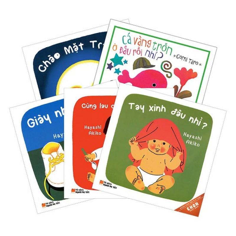 Sách - Ehon Nhật Bản Dành Cho Trẻ Từ 0 - 3 Tuổi (Bộ 6 Cuốn)