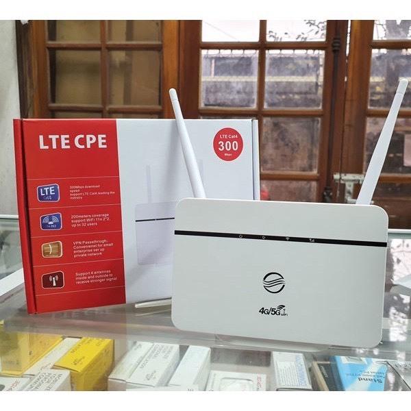 Bộ Phát Wifi từ sim 3G/ 4G RS860 Tốc độ 300Mbps, 2 râu wifi. Có cổng lan