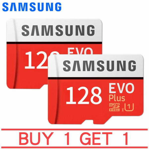 Thẻ nhớ MicroSDXC Samsung EVO Plus 128GB U3 4K-R100MB With Adapter Mua 1 tặng 1