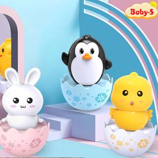Lật đật cho bé hình thú hoạt hình ngộ nghĩnh đáng yêu hình gà con thỏ trắng và chim cánh cụt Baby-S SDC041 thumbnail