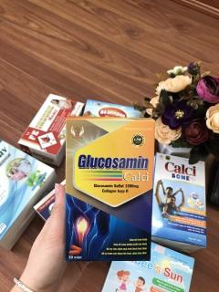 Viên uống bổ xương khớp Glucosamin 1500mg Giảm đau nhức mỏi xương khớp hiệu quả - thumbnail
