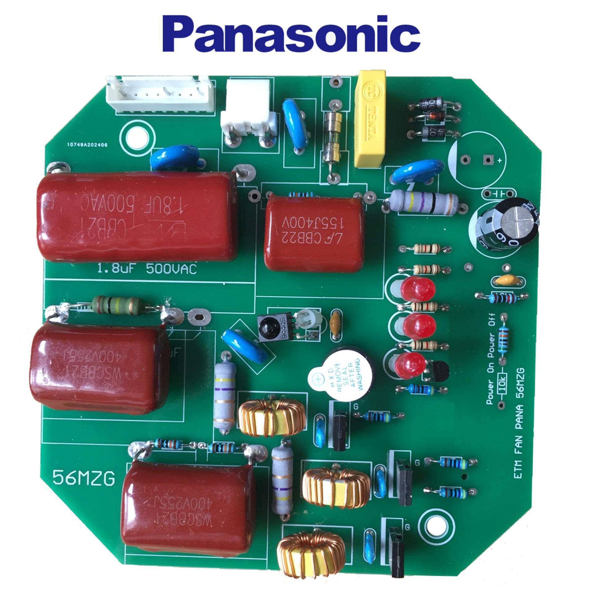 Mạch điều khiển quạt trần Panasonic 4 cánh F56MZG Nhật Bản