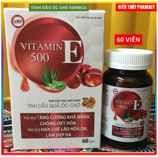 Viên Uống Đẹp Da Vitamin E Đỏ- Chiết Xuất TInh Dầu Óc Chó , Dầu Hoa Anh Thảo, Dầu Hạnh Nhân, Giúp Chống Oxy Hóa, Giảm Nếp Nhăn, Mờ Thâm Nám, Cân bằng nội tiết tố- hộp 60 viên thumbnail
