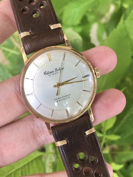 Đồng hồ nam CITIZEN DELUXE - Nhật
