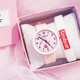 Đồng hồ thời trang nam nữ Candycat Thỏ Cony dây silicon siêu xinh MS047 thumbnail