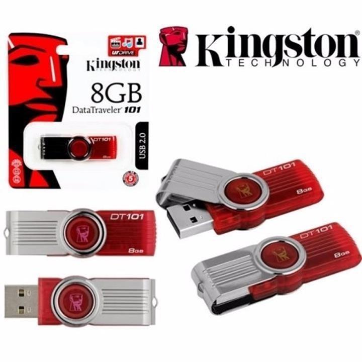 USB 2.0 Kingston DT101 G2 8GB - DUNG LƯỢNG THỰC