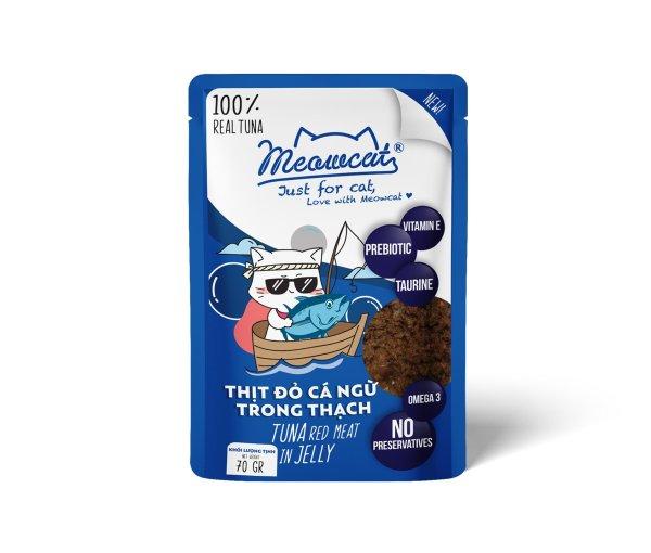 Thức ăn Pate MeowCat cho mèo gói 70g