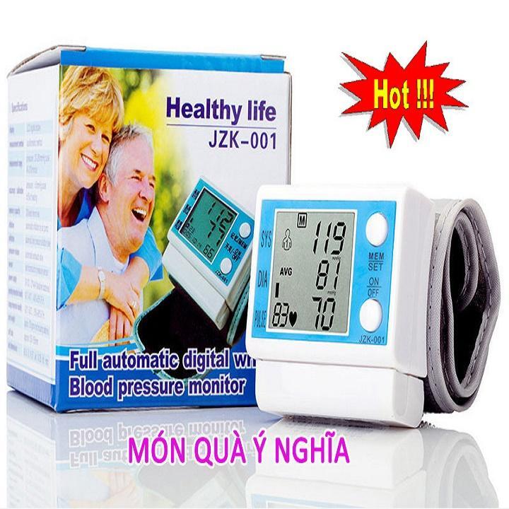 Máy Đo Huyết Áp Cổ Tay MiNi Healthy Life JZK-001 Giá Rất Tiết Kiệm