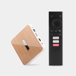 Android TV Box Mecool KM6 Điều khiển giọng nói, Amlogic WIFI 6, Hi-Fi Lossless , Dolby Audio DTS Listen , 4GB DDR4+64GB EMMC , android tivi box cao cấp hàng đầu thị trường S905X4 thumbnail