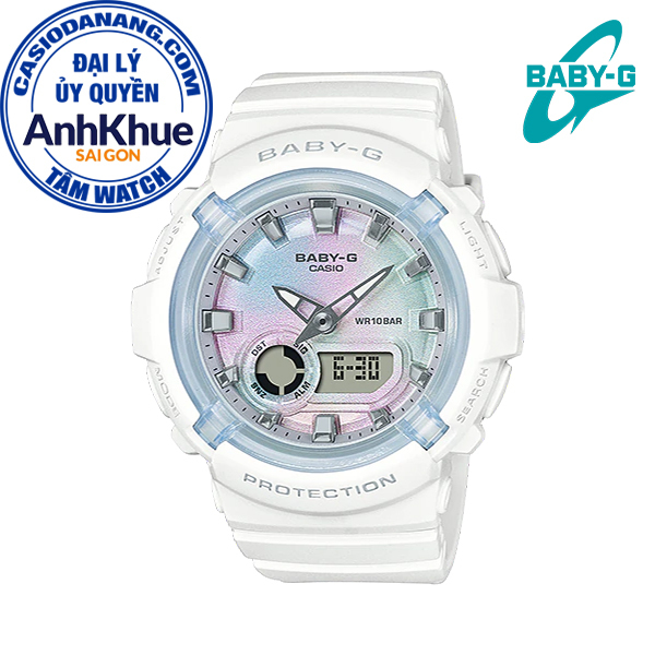 Đồng hồ nữ dây nhựa Casio Baby-G chính hãng Anh Khuê BGA-280-7ADR (43mm)