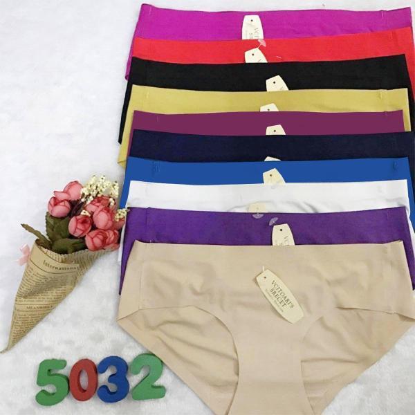 Nơi bán Combo 10 quần lót nữ su đúc không đường may, hàng đẹp loại tốt, vải thun lạnh, co giãn đàn hồi tốt, không gây khó chịu khi mặc, đồ lót nữ vải thun lạnh phù hợp mọi lứa tuổi