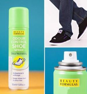 Xịt khử mùi giày Beauty Formulas - 150ml thumbnail
