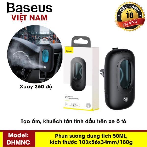 Máy phun sương mini, khuếch tán tinh dầu, tạo độ ẩm nhỏ gọn, dễ dàng mang theo khi di chuyển - Thương Hiệu Baseus - Phân phối bởi Baseus Vietnam