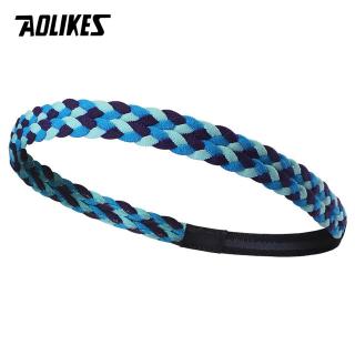 Băng đô băng trán thể thao thấm mồ hôi có Silicone chống trượt Sport sweatband Aolikes A-2102 thumbnail