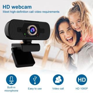 Webcam HD 1080P Chất Lượng Cao, Camera Webcam Sống Tích Hợp Micro Camera Máy Tính Tự Động Lấy Nét Video Phát Sóng Trực Tiếp thumbnail