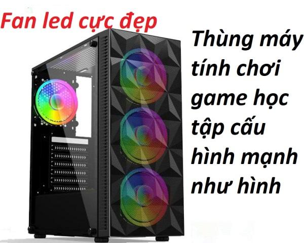 Bảng giá Thùng máy tính chơi game core i3 ram 8g vga 2g chơi game học tập online cực mạnh Phong Vũ